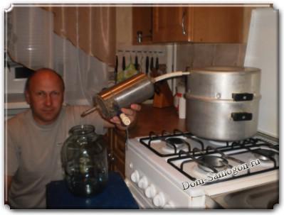 Устройство самогонного аппарата с сухопарником своими руками фото 821